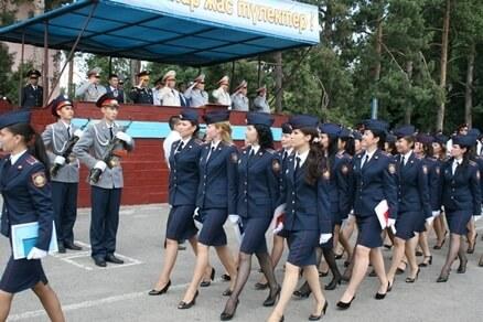 Работа в МВД РК для девушек