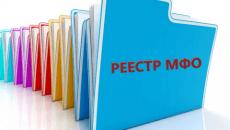 Реестр микрофинансовых организаций Казахстана