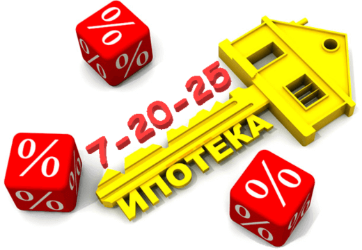 Онлайн калькулятор ипотеки 7 20 25 - Автоматический расчет