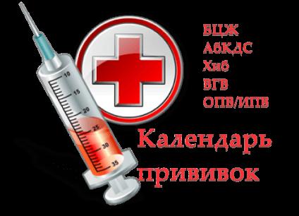 Какие прививки ставят детям и взрослым, календарь прививок РК