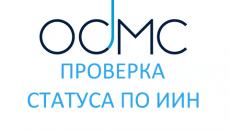 Онлайн проверка статуса в системе ОСМС