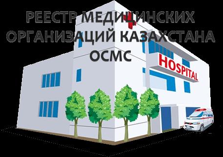 База данных медицинских центров РК