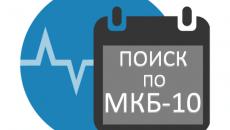 Справочник международной классификации болезней МКБ-10