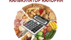 Калькулятор калорий и БЖУ