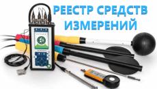 Реестр средств измерений Казахстана